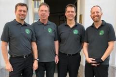 BWW1 Saison 2018/19, v.l.n.r.: Horvath, Eigensperger, Beranek, Walther
