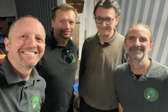 BWW1 Saison 2021/22: v.l.n.r.: Walther, Horvath, Schnöll, Dutzler