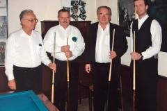 v.l.n.r.: Pech, Kubak, Jaitner, Horvath