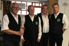 BWW3 Saisonen 2017/18+2018/19:  v.l.n.r.: Prager, Morgenstern, Ellinger, Herndler