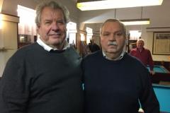 Sportleiter Ellinger und Obmann Kubak