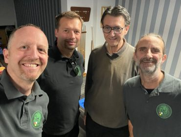 BWW1 Saison 2021/22: v.l.n.r. Walther, Horvath, Schnöll, Dutzler